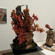 But the arrangement depicts the sculpture