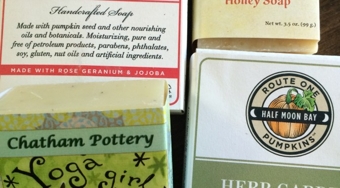 Artisanal Soaps. Aromatherapy in the Shower