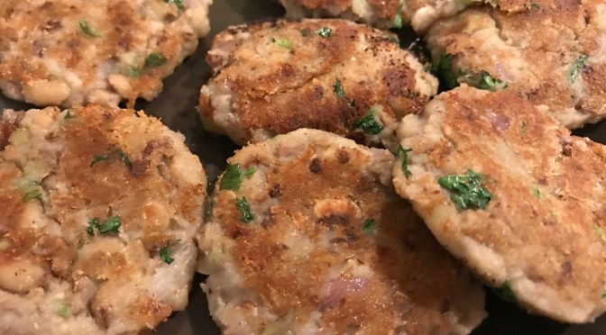 New Year's Day Black-Eyed Pea Fritters