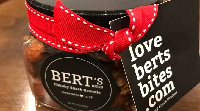 Bert's Bites Chunky Snack Granola