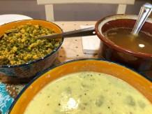 Rasam at Meera & Mahesh's