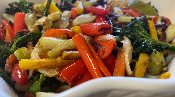 The Perfect Roasted Veggies