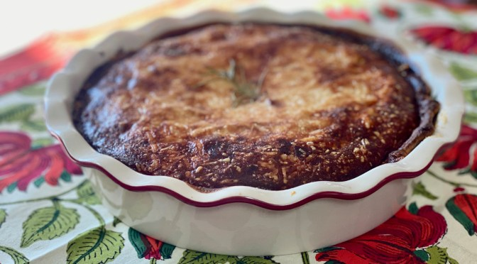 Caramelized Onion and Cheese Tart