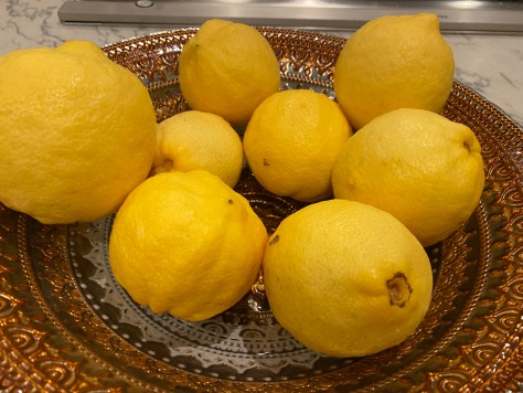 Lemons from Shalini