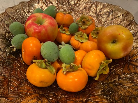Persimmons from Veena