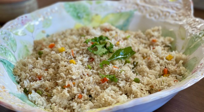Toasted Black Pepper & Cumin Fried Rice