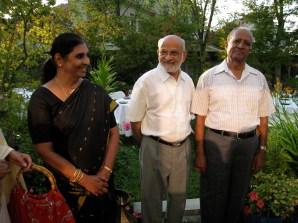 Radhika's Mom, my Dad and Mr. Iyengar