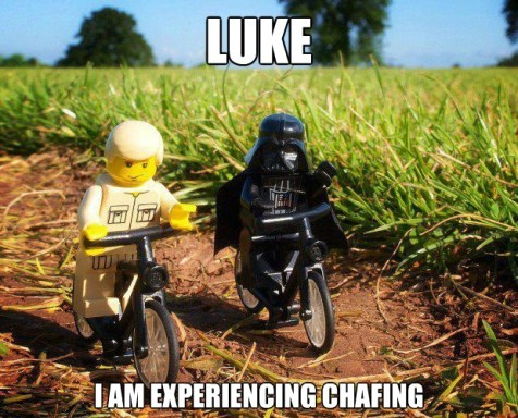 Skywalker Vader lego bike ride meme