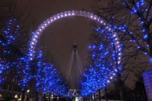 Christmas Lights - Limo Hire London