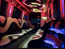 Mercedes Party Bus Interior.