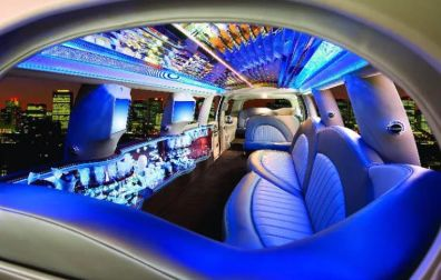 Ford Excursion - White & Gret - Limo Hire London | Surrey