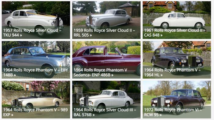 Classic Car Hire..