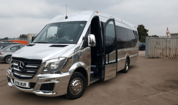 16 Seater Party Bus Hire London