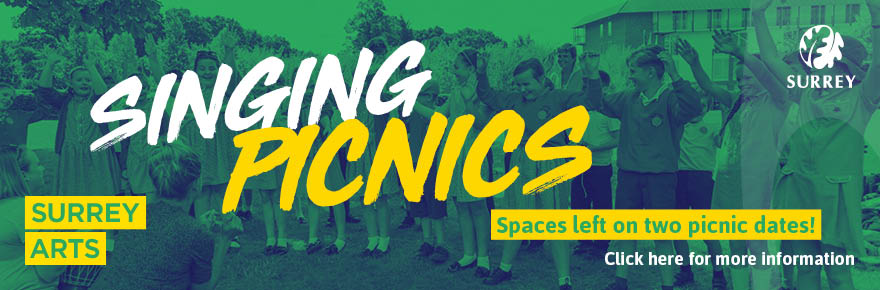 Singing Picnics - spaces left on two picnic dates.
