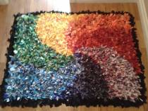 This is the rug the congregation made in the 2015-16 church year.