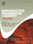 cover of Reproductive Biomedicine & Society Online