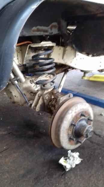 black unimog axle
