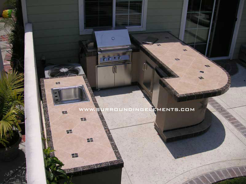 custom outdoor barbecue islands and bbq