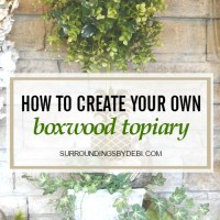 How to Make the Perfect Boxwood Topiary in 5 Easy Steps