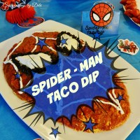 Spider-Man Taco Dip - Fit for a Super Hero!