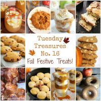 Tuesday Treasures No 16 - Fall Festive Treats!
