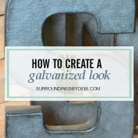 How to Create a Galvanized Look