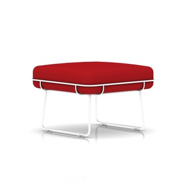 Wireframe Ottoman by Herman Miller