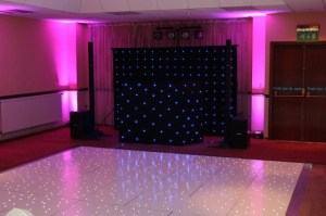 Led Dance floor with Mobile Disco In Tamworth