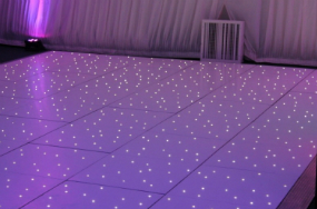 Led Dance floor In White In Sheffield