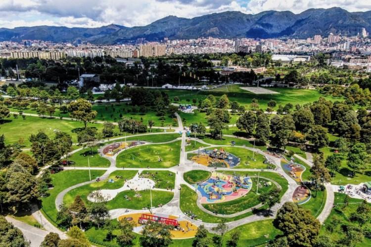 parque simón Bolivar, Parque para eventos,