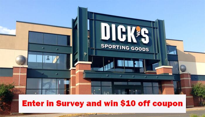 Dick's Sporting Goods Survey