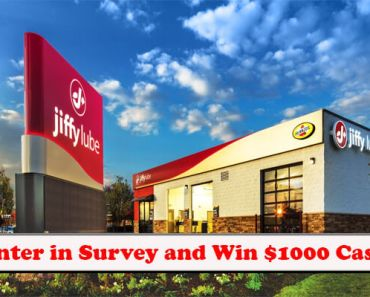 Jiffy Lube Feedback Survey