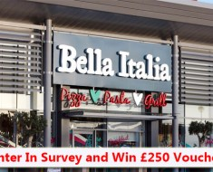Bella Italia Feedback Survey
