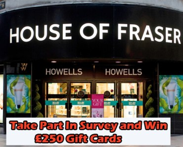 House of Fraser Survey