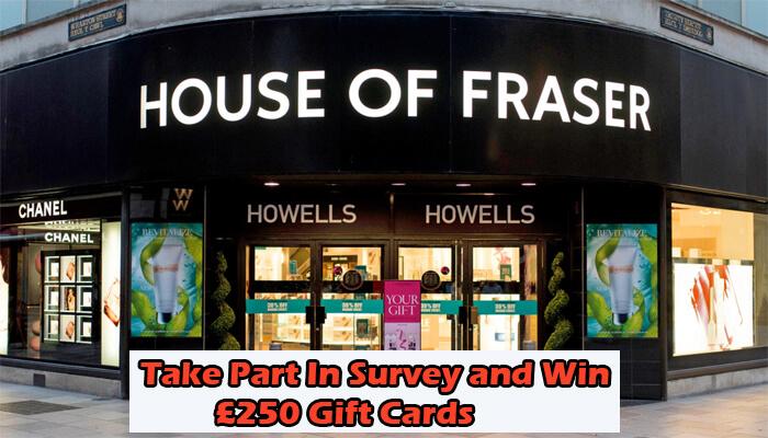House of Fraser Survey
