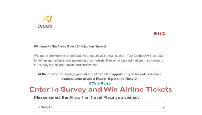 Areas Feedback Survey