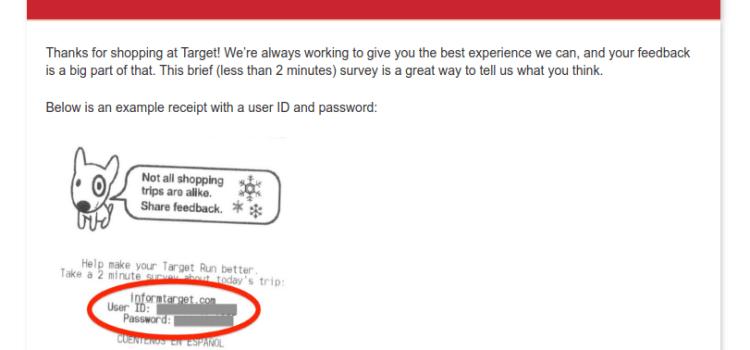 target.com/survey – Take Target Customer Survey To Win $1500 Gift Card