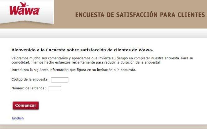 Mywawavisit.com Customer Survey