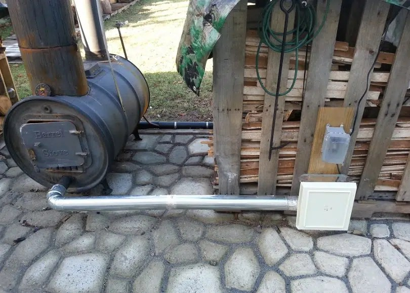 Diy Wood Stove Heat Shield
