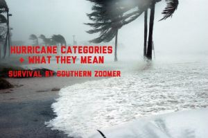 what are the hurricane categories
