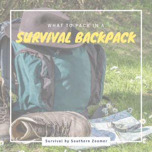 what to pack in a survival backpack
