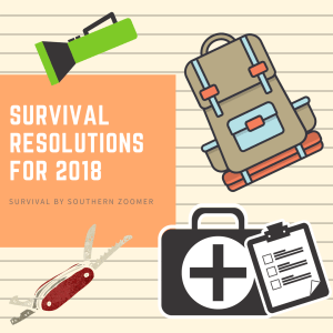 survival resolutions for 2018