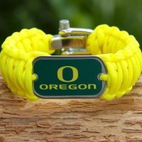 Oregon Ducks Survival Straps - Making Paracord Shoelaces HD