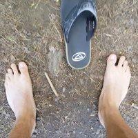 Survival Bros Challenge #2 - Walk Barefoot Outside