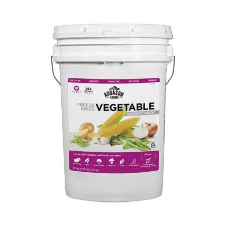Freeze Dried Vegetable Pail