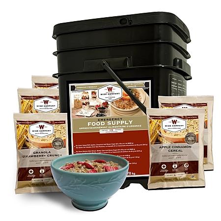 Wise 120 Serving Package of Breakfast Long Term Survival Food