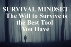 Survival Mindset for Surviving a Disaster