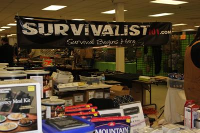 Survivalist 101 Gun Show