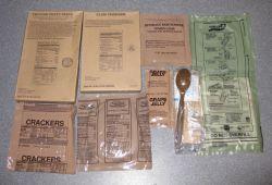 MRE vs. Freeze Dried Food