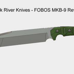 Bark River Knives - FOBOS MKB-9 Review